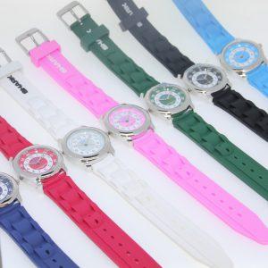 SA179 School Uniform Time Teacher Watch - White & Navy Only-0