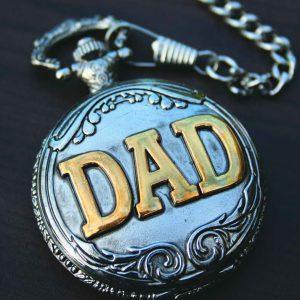 PWK- Dad Pocket Watch on Chain-0