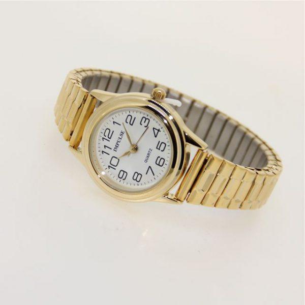 IS603 Ladies Metallics Stretch Watch - SMALL 28mm diameter dial-1160