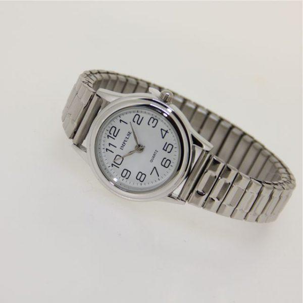 IS603 Ladies Metallics Stretch Watch - SMALL 28mm diameter dial-1157