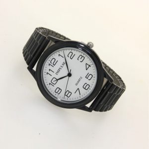 IS601 Stretch Coloured Band Watch - LARGE 38mm diameter dial-2090