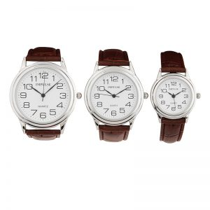 IT601 - IT603 Traditional Basic Strap Band Watches - TAN -0