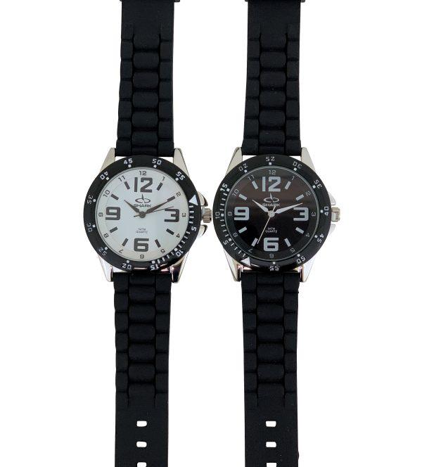 SR103A (SB357) SHARK 3ATM Men's Rubber Band Watch-0