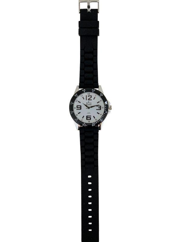 SR103A (SB357) SHARK 3ATM Men's Rubber Band Watch-2934