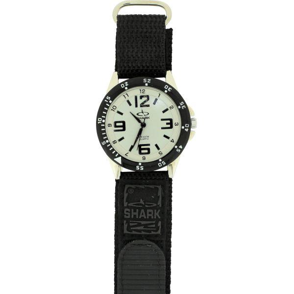 SV101A (SB357V) SHARK 3ATM Men's Velcro Band Watch-2583