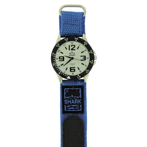SV101A (SB357V) SHARK 3ATM Men's Velcro Band Watch-2586