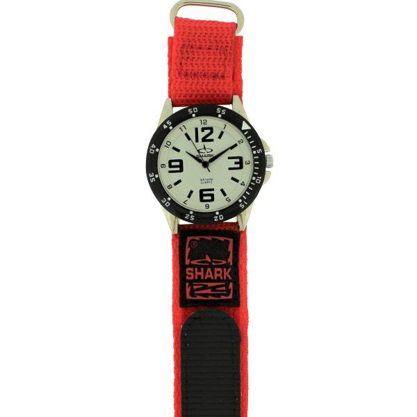 SV101A (SB357V) SHARK 3ATM Men's Velcro Band Watch-2584